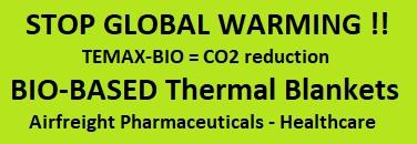 TEMAX BIO thermal blankets